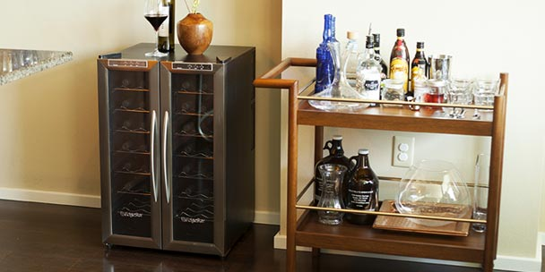 Can A Freestanding Wine Cooler Be Installed Under A Counter